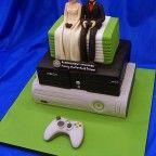 Geek Gaming Xbox Wedding Cake