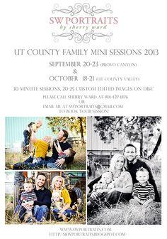 S.W. Portraits: UT County Fall Family Mini Sessions 2013 Family Portraits Ut county family photographer