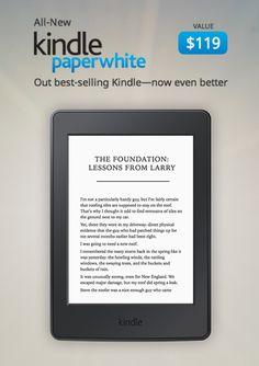 #KindlePaperwhite Giveaway!