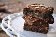 chewy #chocolate #brownies #recipe, #go_to