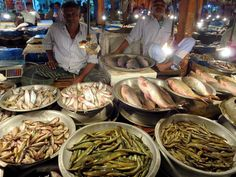 The fish market in central Sylhet, Bangladesh, is worth a visit.