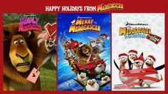 Celebrate the holidays with Madagascar streaming on Netflix #StreamTeam