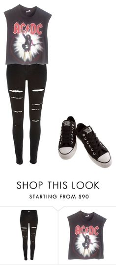 """""""Untitled #786"""" by iloveyou5sos ❤ liked on Polyvore featuring River Island, Vintage and Converse"""