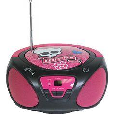 """Monster High CD Boom Box - Sakar International - Toys """"R"""" Us"""