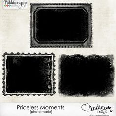 Priceless Moments Photo Masks