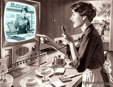 Shop From Home - Plan59 :: Vintage Ads :: Mid-Century Modern :: The New Frontier