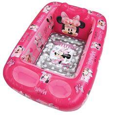Disney's Minnie Mouse Inflatable Bath Tub, Multicolor
