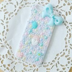 Coque Iphone 6 / 6s bling decoden pastel par PrettyChantilly sur Etsy