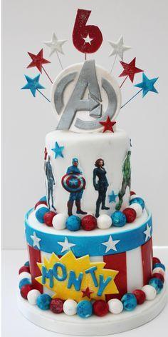 avengers cakes | Avengers cake