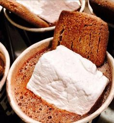 This mouth-watering hot chocolate can be yours, right at City Bakery in NYC.