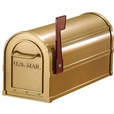 Make your home stand out from all others on the block with this beautiful brass mailbox. Its brilliant color will ensure that your mailbox is the brightest in town. It is also U.S.P.S approved, so  there is no need to worry about compliance.