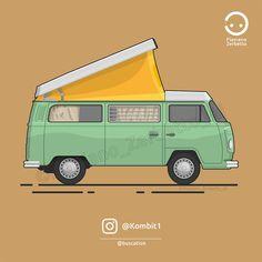 KombiT1: Volkswagen t2 Westfalia @buscation