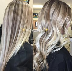 ✨🌺LAYERED LIGHTNESS helped me create this beautiful, multidimensional 👱🏽♀️Blonde Dream👸🏼☁️ toned ✨PaintedHair✨👩🏻🎨 Straight and Waved🌊. Light Blonde Hair, Blonde Hair Looks, Brown Blonde Hair, Light Hair, Blonde Foils, Hair Color Balayage, Hair Highlights, Ombre Hair, Blonde Balayage