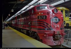 RailPictures.Net Photo: LV 578 Lehigh Valley EMD F7(A) at Hoboken, New Jersey by Mitch Goldman