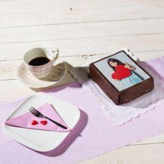 Sacher Foto-Torte mit essbarem Foto - Mein Foto ganz lecker, 26,90 Euro