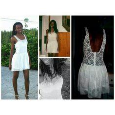 Crochet short party dress