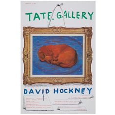 A selection of art prints, books, gifts, homewares, clothing and more inspired by British artist David Hockney. David Hockney Prints, Tate Modern Exhibitions, Art Exhibitions, Art Exhibition Posters, Tate Gallery, Dog Poster, Shops, Minimalist Poster, Typography Poster