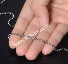 ball chain/ bead chain manufacture from China #ballchain #beadchain #militarydogtagballchain #militaryballchain #stainlessteelballchain #ballchainnecklace #ballchainspool #beadchainspool  #tfchain #2.4mmballchain #2.0mmballchain #ballchainmanufacture #beadchainmanufacturer Dog Tags Military, Military Ball, Ball Chain, China, Beads, Metal, Accessories, Color, Beading
