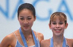 Michelle Kwan and Tara Lipinski. I remember the 1998 olympics so well, even though I was only 5. I can picture myself skating around the living room!