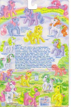 My Little Pony So-Soft Backcard