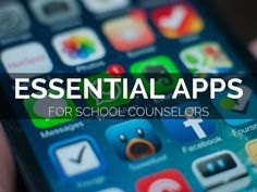 """"""" Essential Apps For School Counselors"""" - A Haiku Deck by Carol Miller…"""