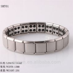 Yiwu Aceon New Stainless Steel Blood Pressure Elastic Bio Magnetic Bracelet