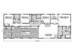 Wardcraft Isabella II | Floorplans - Ranch | Pinterest on heritage apartments, manufactured homes, heritage sheds,