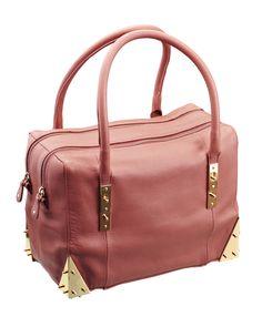 Murray leather bag in the colour cedar