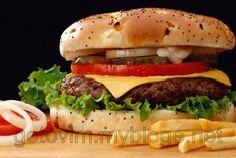 Все мы любим Макдональдс и взрослые и особенно – дети. Еда в нем хоть и вкусная, но не очень полезная. Попробуйте приготовить аналог гамбургера дома.