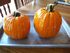 How to Roast a Whole Pumpkin in the Oven