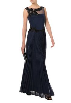 Ballkjole - blå Marchesa, Blouse Dress, Occasion Wear, Blue Dresses, Skirts, How To Wear, Black, Blouses, Passion