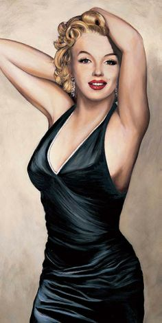 Marilyn Monroe by Will Richmond. Arte Marilyn Monroe, Marilyn Monroe Drawing, Marilyn Monroe Wallpaper, Actrices Hollywood, Marlene Dietrich, Star Art, Norma Jeane, Brigitte Bardot, Celebs
