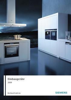 Intégré dans les appareils Siemens Hausgeräte 2009 par la Suisse