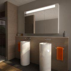 Badezimmer-Spiegelschrank beleuchtet Big 989705241