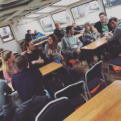 Hafenrundfahrt mit unseren Startups by rednix