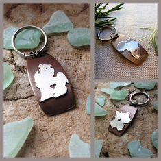 State or Country Keychain in Antiqued Brass and by sprout1world, $49.00. Great for Father's Day!  man gifts men gifts fathers day ideas personalize heart home state pendant sterling silver fashion jewelry keychain