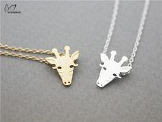 Giraffe Face Necklace