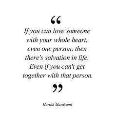 Love someone.  #home #decoration #wall #wallart #fulloflove #fullofloveofficial #frame #cerceve #art #typography #çerçeve #hediye #gift #love #HarukiMurakami #1q84