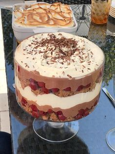 Baking Recipes, Cake Recipes, Newfoundland Recipes, Desserts In A Glass, Mousse, Trifle, International Recipes, Christmas Desserts, Sweet Recipes