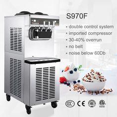 máquinas de sorvete sundae