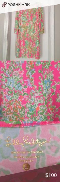Southern Charm Sophie Dress EUC Lilly Pulitzer Southern Charm Sophie Dress. Beautiful for Spring! Smoke Free home. Reasonable offers considered. Lilly Pulitzer Dresses Long Sleeve