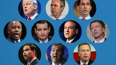 The first Republican presidential debate airs on August 6, 2015. CNN Politics live blogs to keep you up-to-date throughout the evening.