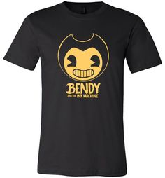 nice Bendy and the Ink Machine Unisex T-Shirt