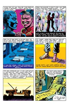 'What Is Evil,' a Comic by Benjamin Marra | VICE | United States
