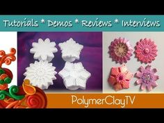 ▶ Polymer Clay TV Learn How to Make These Beautiful Polymer Clay Kaleidoscope Designs - YouTube