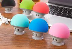 Small mushroom Bluetooth Speaker 1k crowdfunding| Buyerparty Inc.