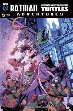 Batman TMNT Adventures (2016) Issue #5