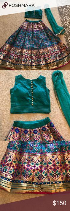 Chaniya choli ghagra Indian clothing Chaniya choli ghagra Indian clothing Other