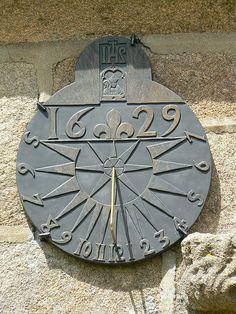 Cadran solaire Chapelle de Saint Samson