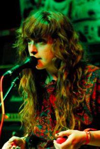 Victoria Legrand: her hair is a magical mop.